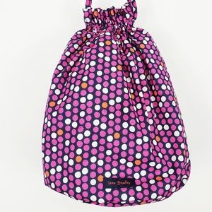 Vera Bradley Pink Polka dot Drawstring Backpack